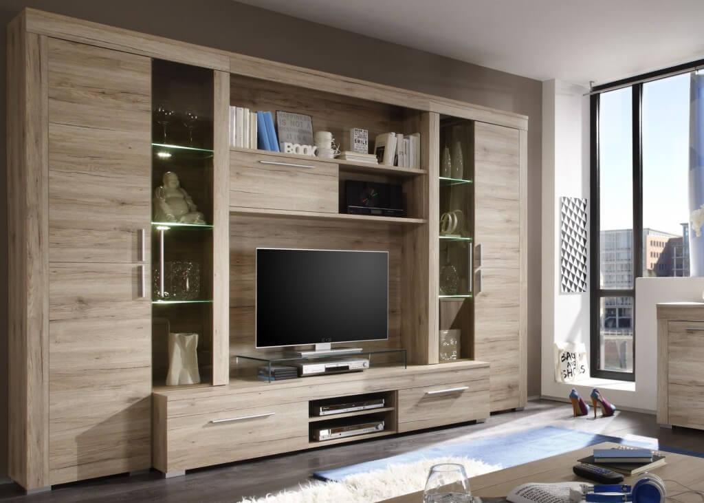 wohnwand auf rechnung wohnwand buche nachbildung rechnung. Black Bedroom Furniture Sets. Home Design Ideas